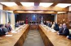 101. DOKA Yönetim Kurulu toplantısı; Artvin Valisi Ömer Doğanay, Giresun Valisi Harun Sarıfakıoğulları'nın yanı sıra Rize Valisi Erdoğan Bektaş, Gümüşhane Valisi Okay Memiş, Ordu Valisi Seddar Yavuz ve Trabzon Vali Vekili Necmettin Yalınalp ile Yönetim Kurulunun diğer üyelerinin katılımı ile gerçekleştirildi.