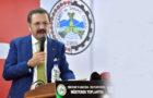 Türkiye Odalar ve Borsalar Birliği (TOBB) Başkanı M. Rifat Hisarcıklıoğlu, Karadeniz sahilindeki tüm illeri kapsayacak olan Samsun-Sarp demir yolunun da bir an önce devreye alınmasını beklediklerini söyledi.